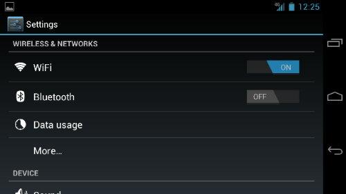Turn off 4G LTE on Galaxy nexus Step 2