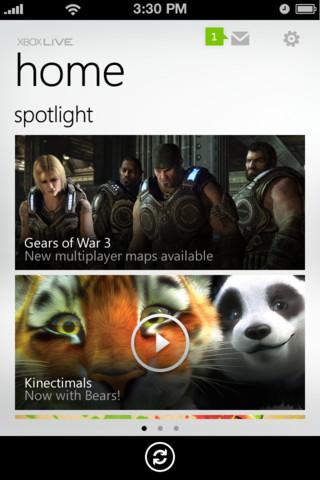 Xbox Live iOS App