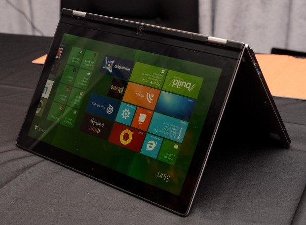 Lenovo Yoga IdeaPad ultrabook