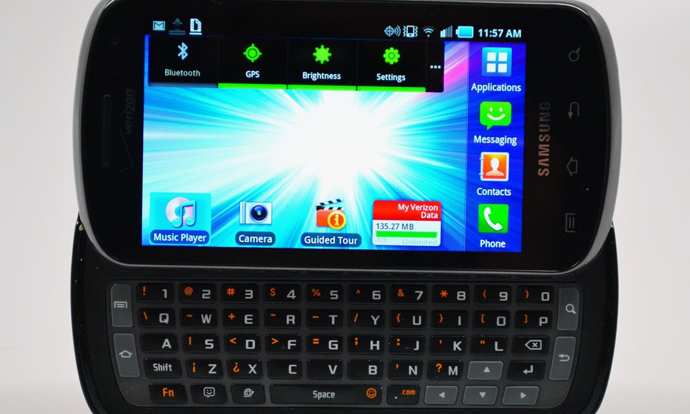 Samsung Stratosphere Review - 4G LTE and a Physical Keyboard