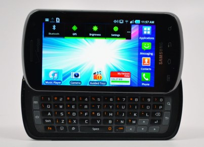 Samsung Stratosphere Review - Keyboard