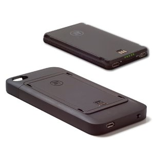 Third Rail iPhone 4S battery case and battery