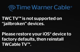 don't jailbreak iPad 2 Time Warner