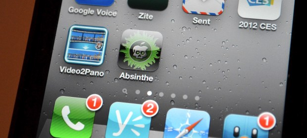 iPhone 4S Absinthe Jailbreak App