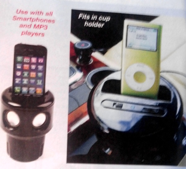 IPhone Cupholder Speaker
