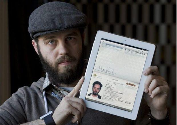 iPads as passports