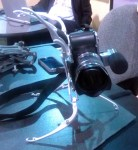 Life Phorm Pro holding a Sony Alpha NEX-C3 on its side