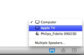 Airplay for Mac iTunes