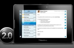 BlackBerry PlayBook OS 2.0 Update Avaialble