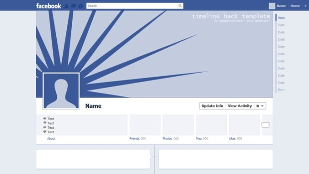 Facebook Timeline Photo Template
