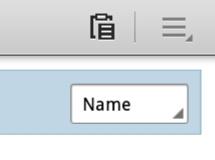 Paste Icon - My Files App Galaxy Tab
