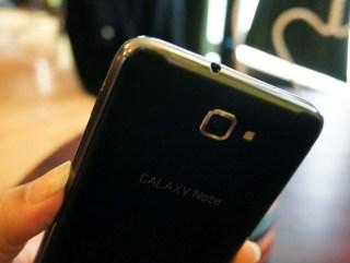 Galaxy Note top