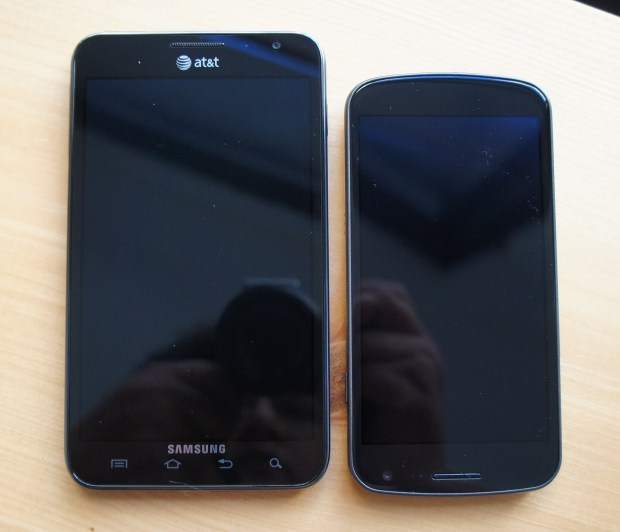 Samsung Galaxy Note and Galaxy Nexus