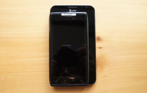 Samsung Galaxy Note and Motorola Droid RAZR