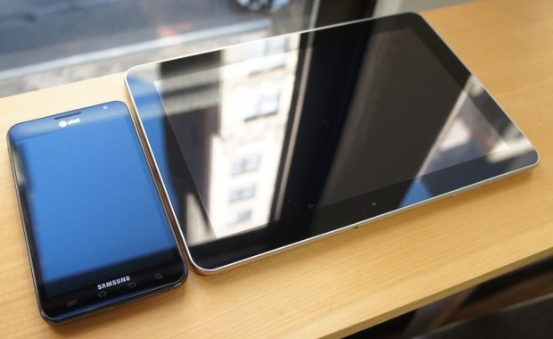 Samsung Galaxy Note and Galaxy Tab