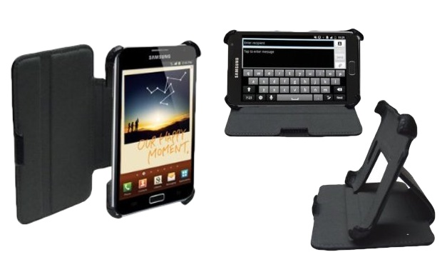Navitech Leather Case and Stand