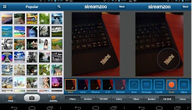 Streamzoo controls
