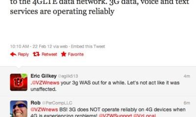 Verizon 4G LTE Outage February 2012