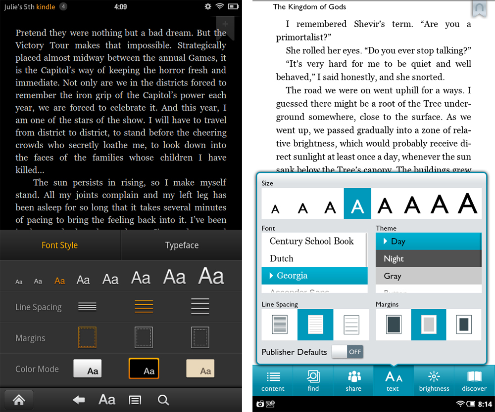 Face-Off: Kindle Fire vs  Nook Tablet – Gotta Be Mobile