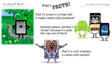 iPad 3 facts joy of tech