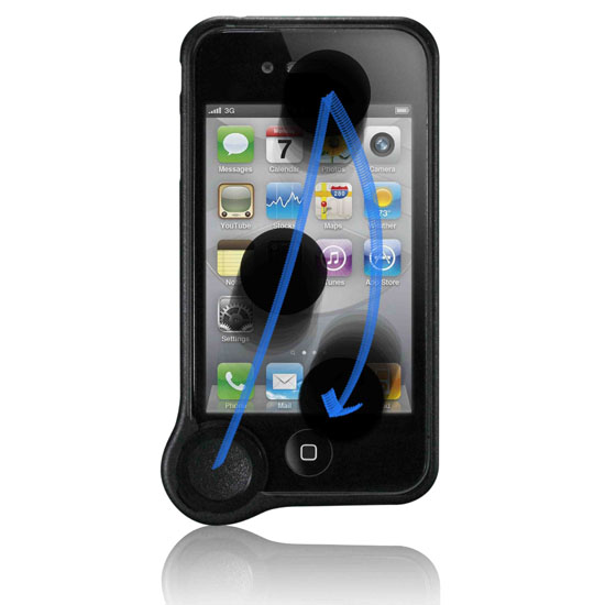 WipeCoin Is An Odd But Useful iPhone 4S Case