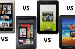 7-inch Android Tablet Face-Off