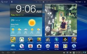 Samsung Galaxy Tab 7.7 Home 1