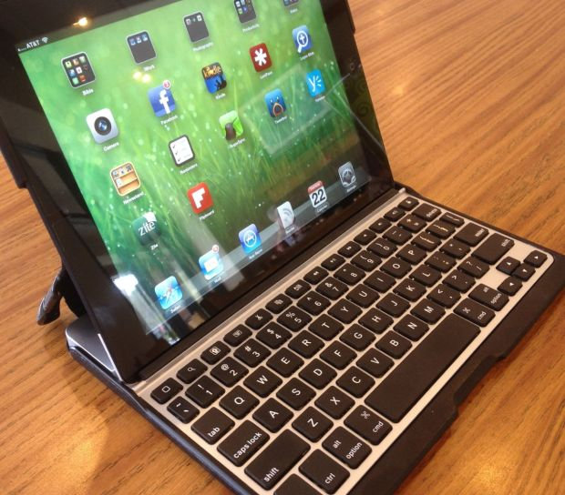 ZAGGfolio Keyboard Case with Bluetooth keyboard
