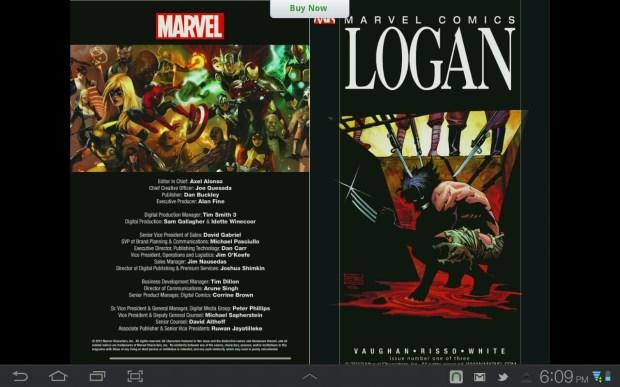 Wolverine: Logan sample