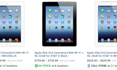 find an iPad in stock at local store