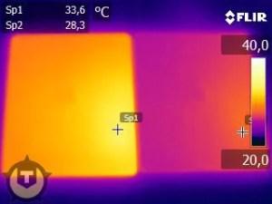 iPad heat test
