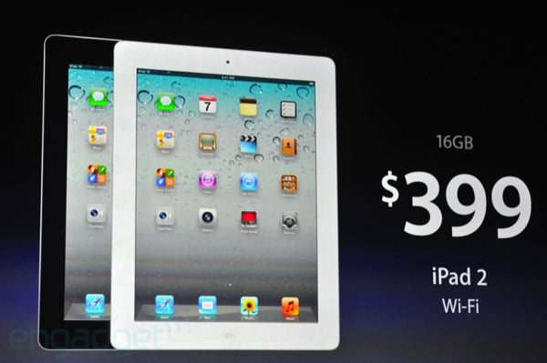 iPad 2 Price Drops to $399 with New iPad Release