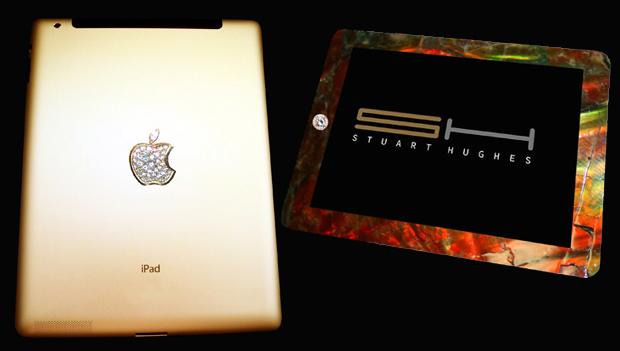 iPad 2 Gold History Edition by Stuart Hughes - £5,000,000