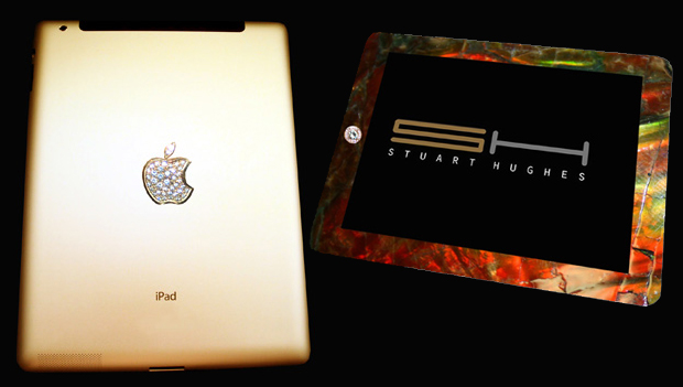 iPad 2 Gold History Edition by Stuart Hughes - £5,000,000