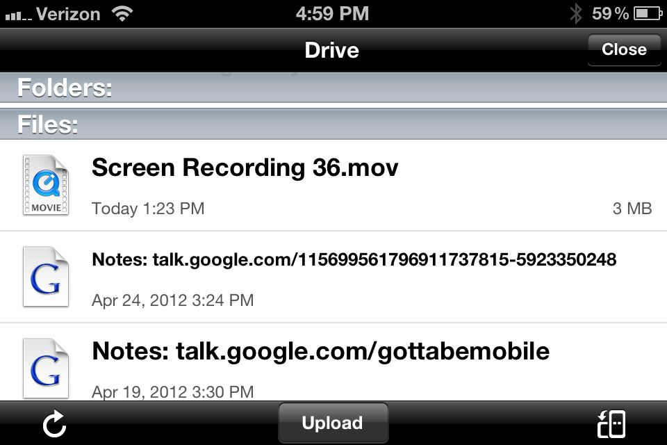 How to Use Google Drive on the iPhone