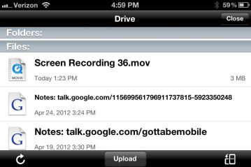 google drive for iphone how to use drive on the iphone 5505