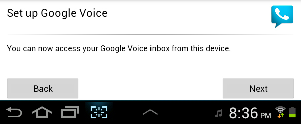 Google Voice Setup Final