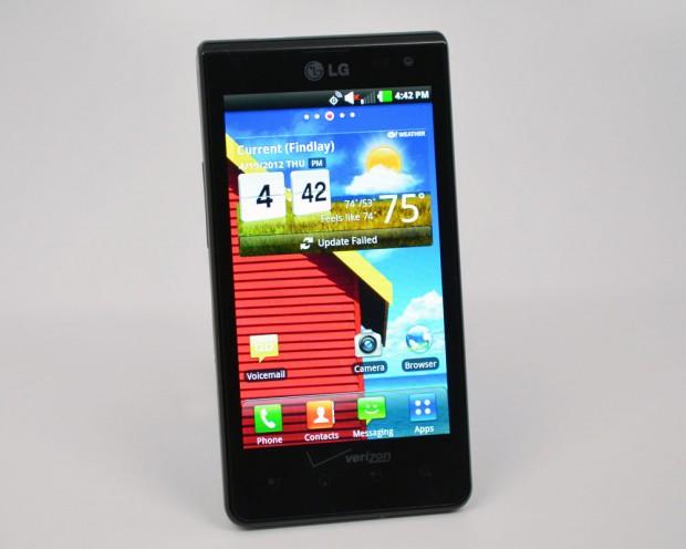 LG Lucid Review LG skin