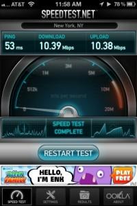 Lumia 900 LTE hotspot