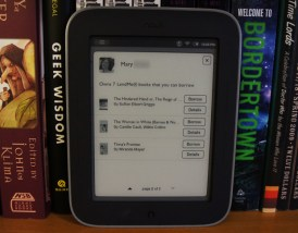 Nook Simple Touch with Glowlight - Browse Library