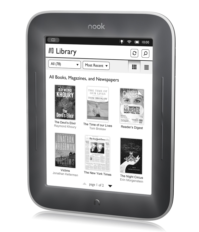 Kindle Touch vs Nook Simple Touch With GlowLight
