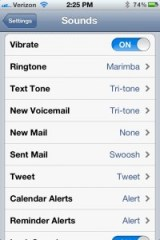 Sound Profiles Location Aware iOS 6