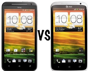 HTC EVO 4G LTE vs HTC One X