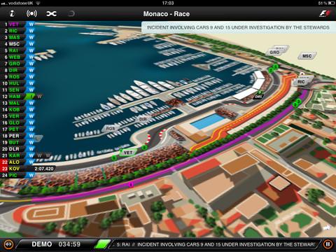 F1 timing app