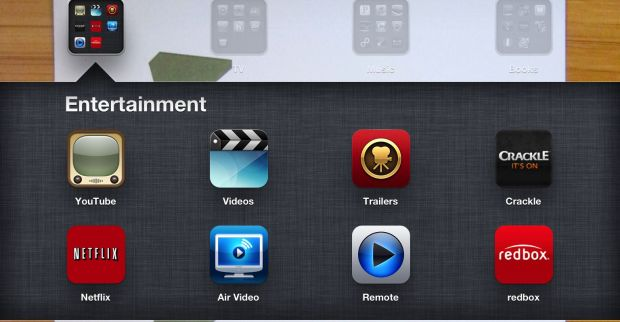 iPad Movie and entertainment apps