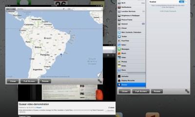 iPad windows multiple apps