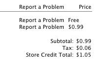 iPhone app refund