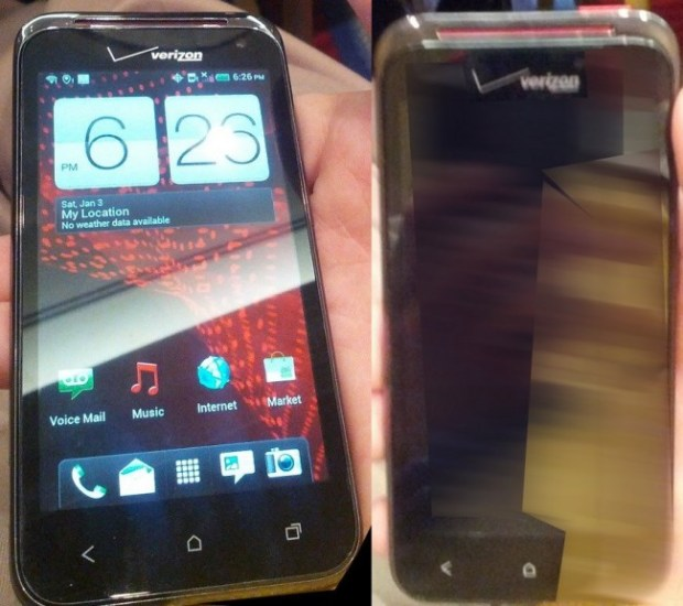 Droid Incredible 4G Photos Leak Again