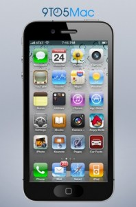 iphone 5 render 4-inch