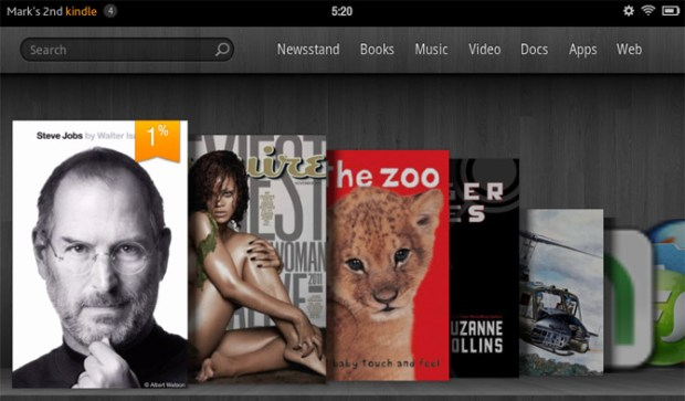 Kindle Fire UI Books
